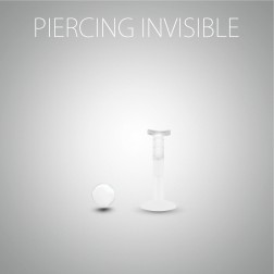 Piercing de conch invisible