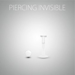 Piercing d'hélix invisible